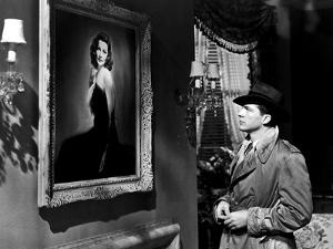 LAURA, 1944 directed by OTTO PREMINGER Dana Andrews (b/w photo)