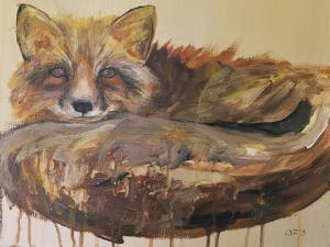 Drip Fox by Laura D Zajac