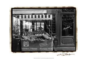 Café Charm, Paris I by Laura Denardo