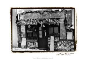 Café Charm, Paris II by Laura Denardo