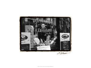 Café Charm, Paris VI by Laura Denardo