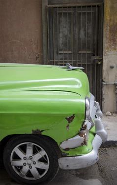 Cars of Cuba III by Laura Denardo