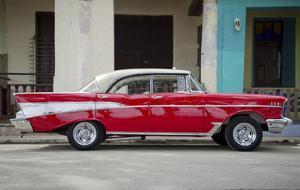 Cars of Cuba VII by Laura Denardo
