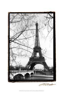 Eiffel Tower Along the Seine River by Laura Denardo