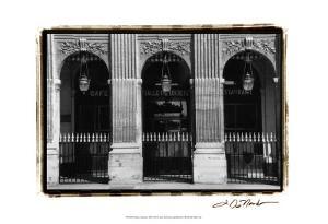 Parisian Archways III by Laura Denardo