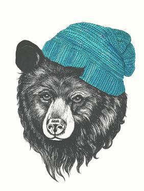 Zissou The Bear Blue by Laura Graves