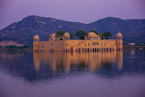Jal Mahal Floating Lake Palace, Jaipur, Rajasthan, India, Asia by Laura Grier