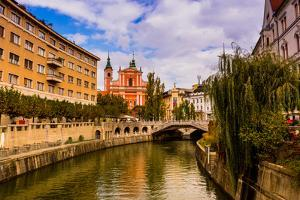 Ljubljana, the capital of Slovenia, Europe by Laura Grier