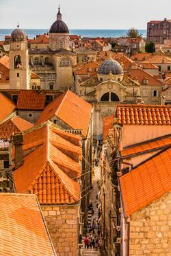 Scenic view of Dubrovnik, Croatia, Europe by Laura Grier