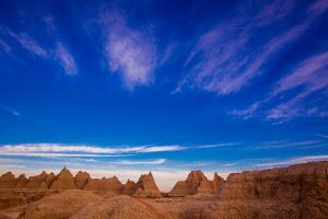 Sunrise at the Badlands, Black Hills, South Dakota, United States of America, North America by Laura Grier