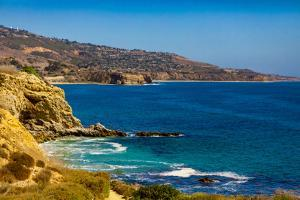 View of Terranea Cove, California, USA by Laura Grier