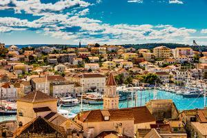 View of Trogir, Croatia, Europe by Laura Grier