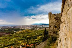 Views from the Fortress of Klis, where Game of Thrones was filmed, Croatia, Europe by Laura Grier