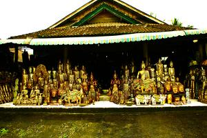 Woodcarving Shop, Ubud, Bali, Indonesia, Southeast Asia, Asia by Laura Grier