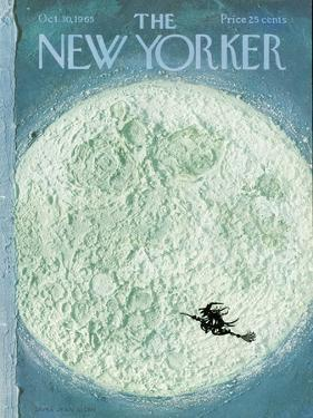 New Yorker Cover - October 30, 1965 by Laura Jean Allen