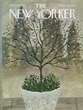 The New Yorker Cover - April 25, 1970 by Laura Jean Allen