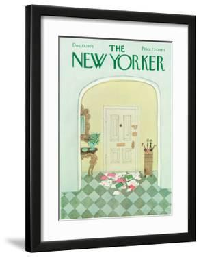 The New Yorker Cover - December 13, 1976 by Laura Jean Allen