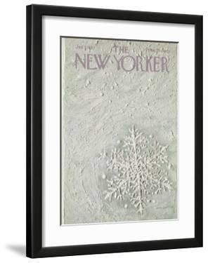 The New Yorker Cover - January 7, 1967 by Laura Jean Allen