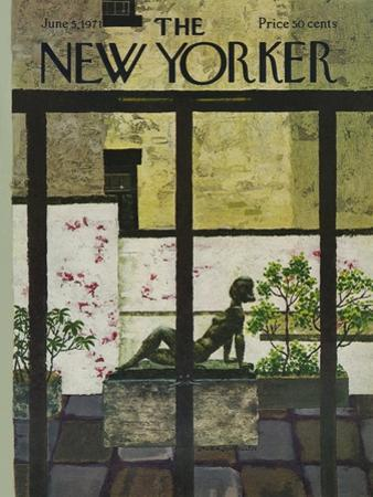 The New Yorker Cover - June 5, 1971 by Laura Jean Allen