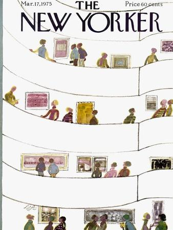The New Yorker Cover - March 17, 1975