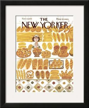 The New Yorker Cover - November 11, 1974 by Laura Jean Allen