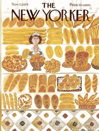 The New Yorker Cover - November 11, 1974