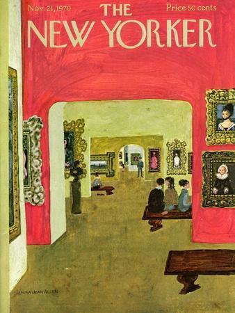 The New Yorker Cover - November 21, 1970