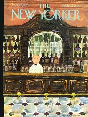 The New Yorker Cover - September 25, 1965 by Laura Jean Allen