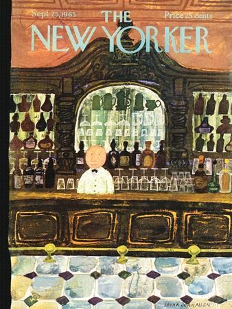 The New Yorker Cover - September 25, 1965