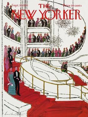 The New Yorker Cover - September 30, 1974 by Laura Jean Allen