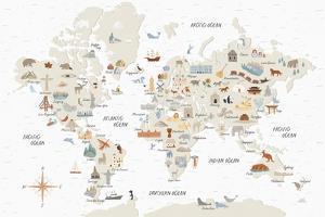 Around the World I by Laura Marshall