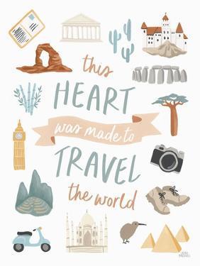 Around the World IV by Laura Marshall