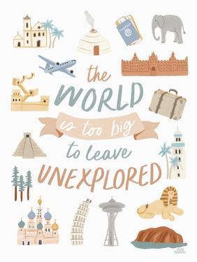 Around the World V by Laura Marshall