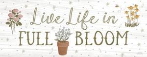 Blooming Garden IX by Laura Marshall