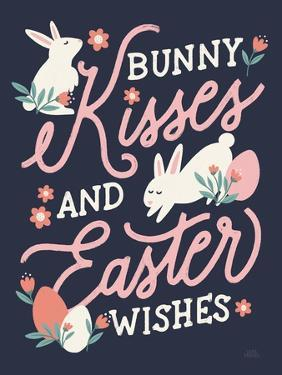 Bunny Kisses II by Laura Marshall
