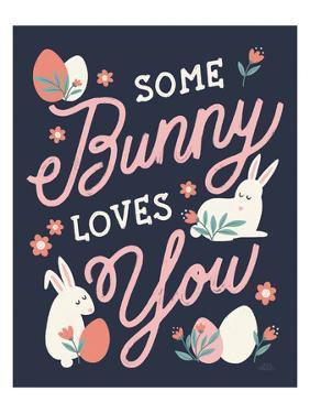 Bunny Kisses III by Laura Marshall