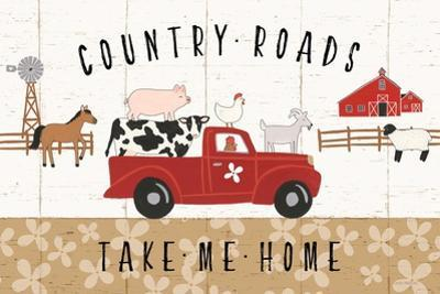 Country Roads I by Laura Marshall