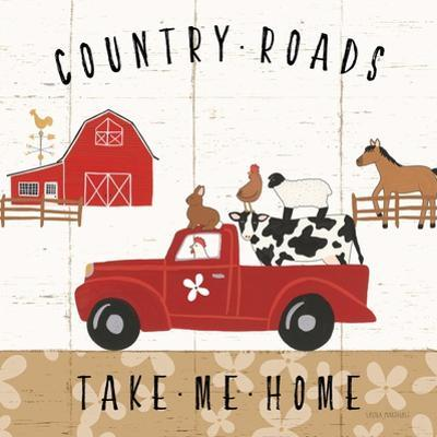 Country Roads III by Laura Marshall
