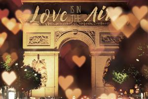 Love is in the Arc de Triomphe v2 by Laura Marshall