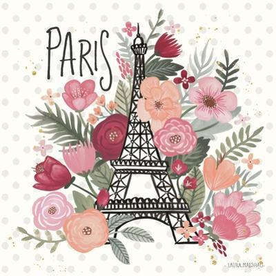 Paris is Blooming II by Laura Marshall