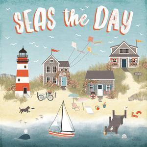 Seaside Village II by Laura Marshall