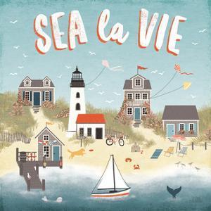 Seaside Village III by Laura Marshall