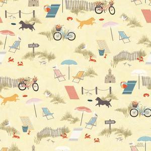Seaside Village Pattern VI by Laura Marshall