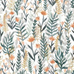 Spring Blooms Pattern I by Laura Marshall