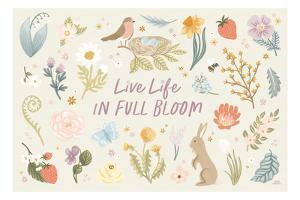 Spring Garden I by Laura Marshall