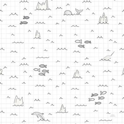 World Traveler Pattern III by Laura Marshall