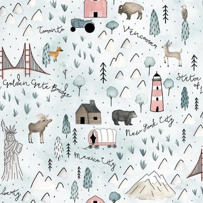 World Traveler Pattern VI by Laura Marshall