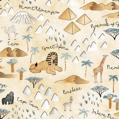 World Traveler Pattern VIII by Laura Marshall