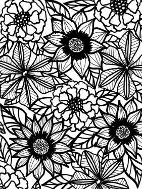Floral Garden by Laura Miller