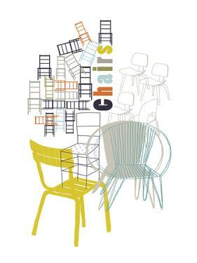 A Collection of Chairs by Laure Girardin-Vissian